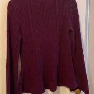 Ann Taylor Sweaters - Ann Taylor peplum sweater